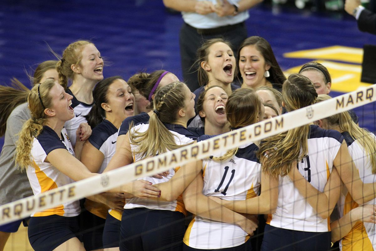 Despite a disappointing end, Marquette volleyball had a lot of to celebrate this season.