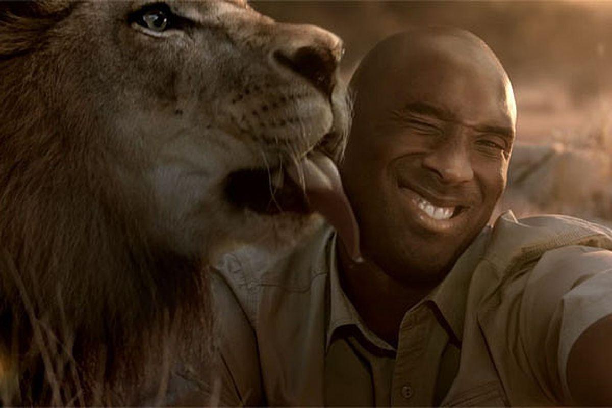 Kobe Bryant Uses A Perfectly Kobe Analogy About A Lion