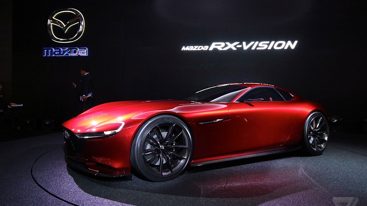 Mazda S Gorgeous Rx Vision Concept Revives The Rotary Engine