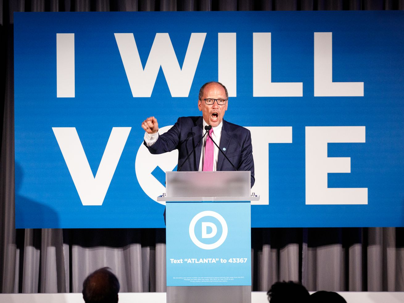 Tom Perez, chair of the Democratic National Committee.