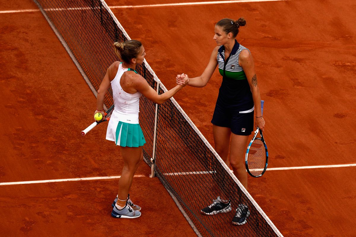 Halep staves off match point to reach French Open semis