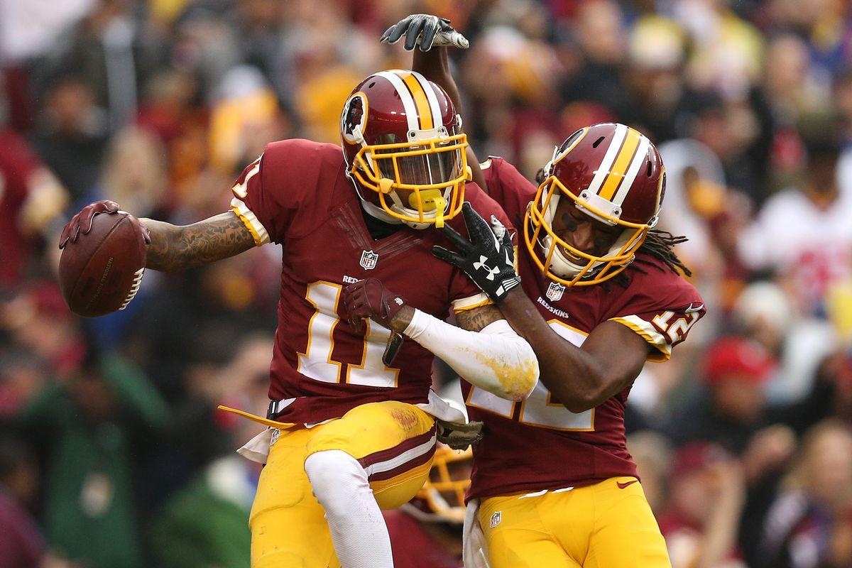 DeSean Jackson celebrates a 63-yard touchdown on Sunday