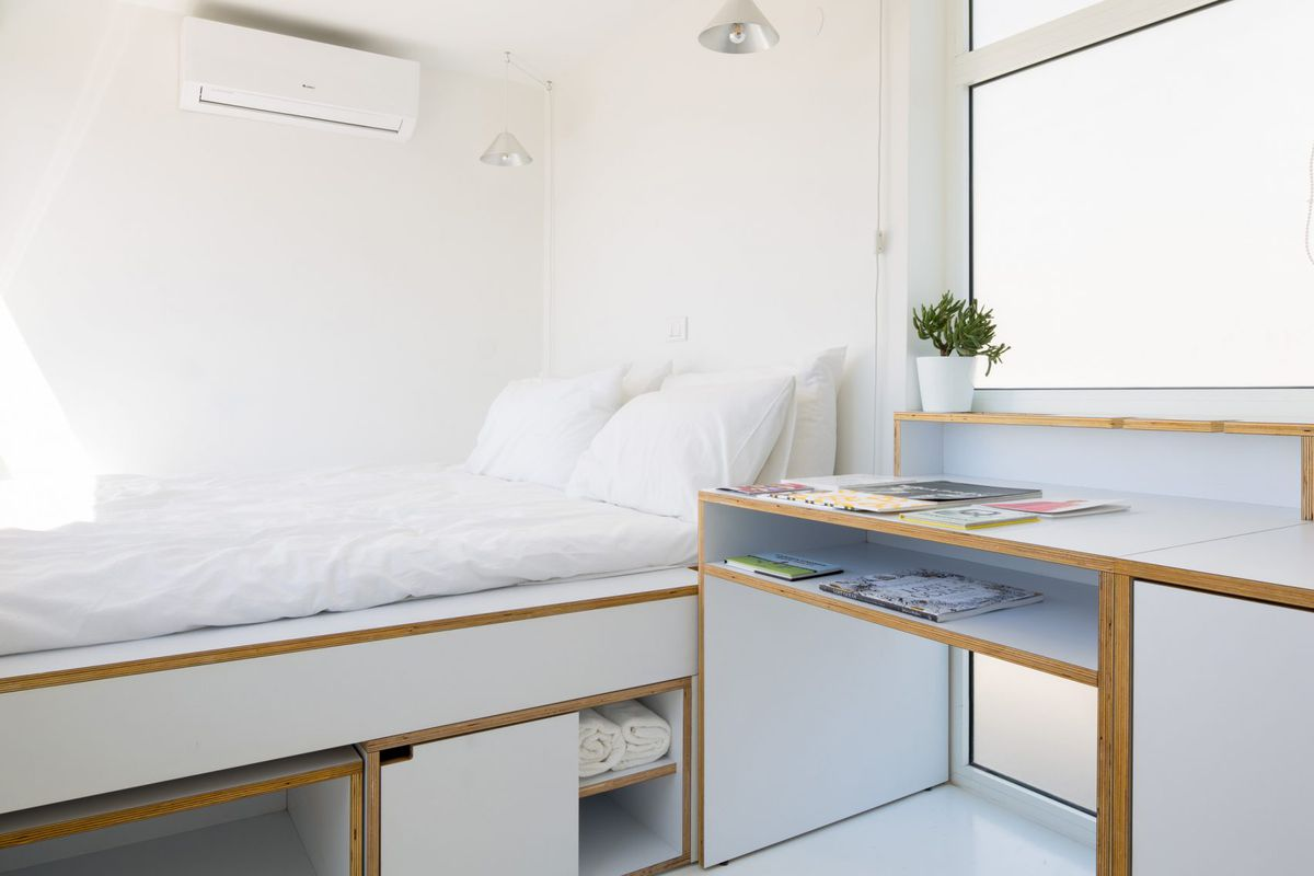 161 Square Foot Micro Apartment Accommodates Everything
