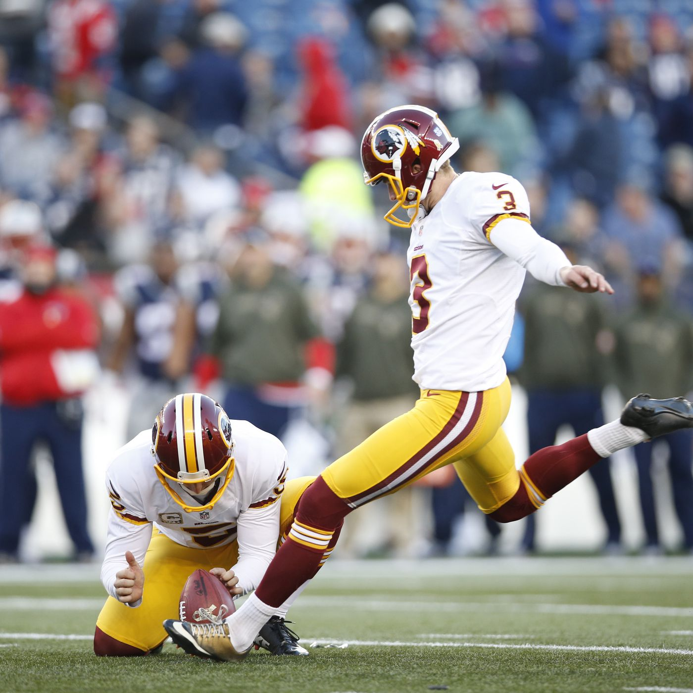 huge discount 6d035 29522 Redskins Sign Punter Tress Way to Five-Year Extension - Hogs ...