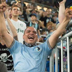 August 17, 2019 - Saint Paul, Minnesota, United States - An MLS match between Minnesota United FC and Orlando City Soccer Clubat Allianz Field. (Tim C McLaughlin)