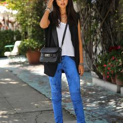 """Annabelle of <a href=""""http://vivaluxury.blogspot.com""""target=""""_blank""""> Viva Luxury</a> is wearing <a href=""""http://www.farfetch.com/shopping/women/hudson-stark-moto-jean-item-10461639.aspx""""target=""""_blank""""> Hudson</a> jeans, a <a href=""""http://www.rag-bone.co"""