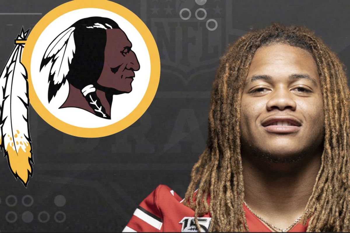 Chase Young is selected as the number two overall pick in the first round of the 2020 NFL Draft to the Washington Redskins.
