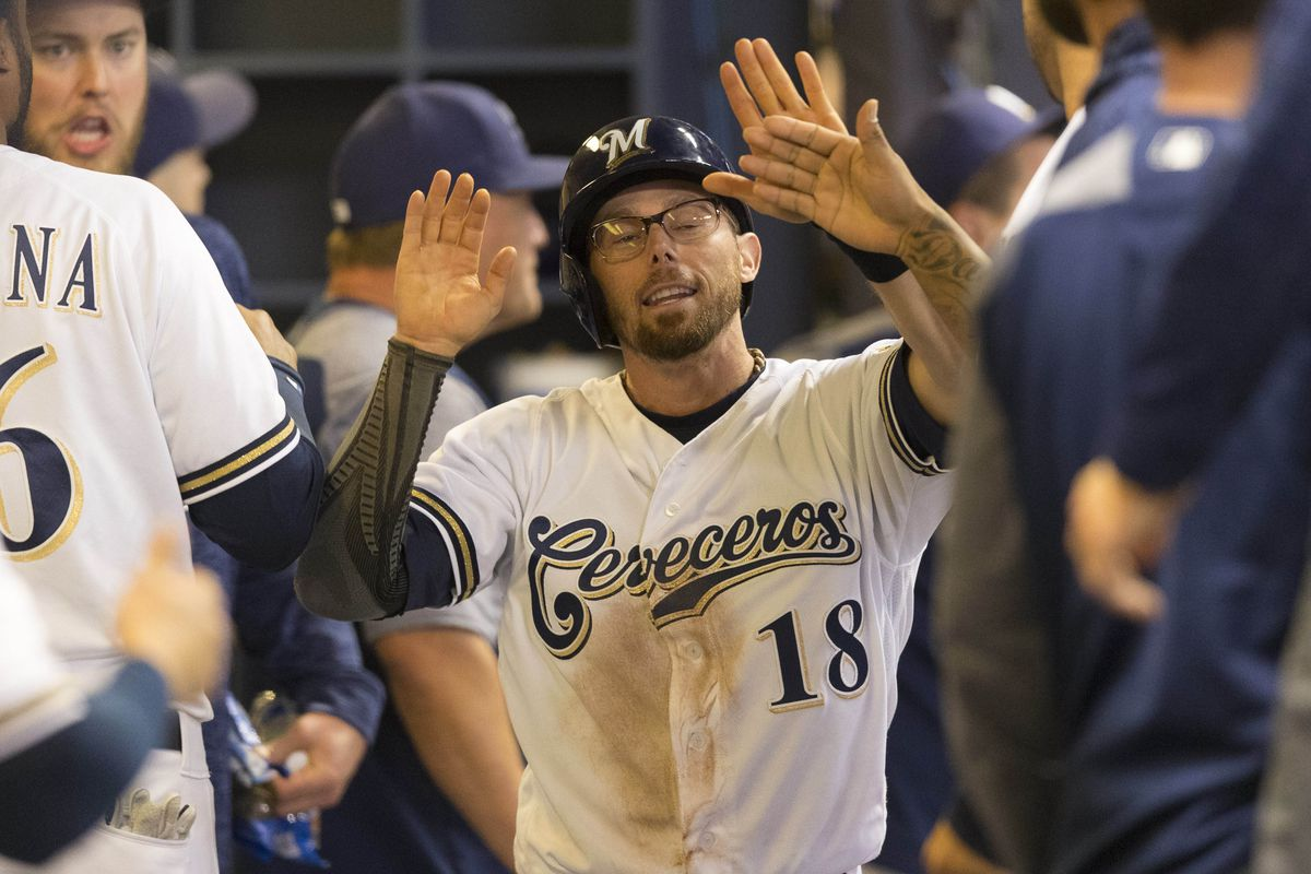 """Eric """"Soda Boy"""" Sogard gets second base today, fresh off of a three walk game yesterday"""