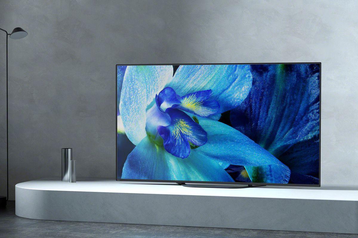 Sony's new 4K OLED TVs start at $2,499 99 - The Verge