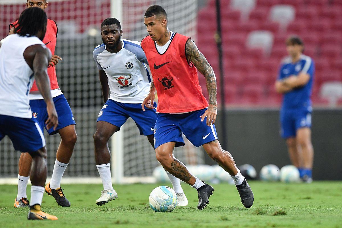 ICC Singapore Chelsea FC Training Session
