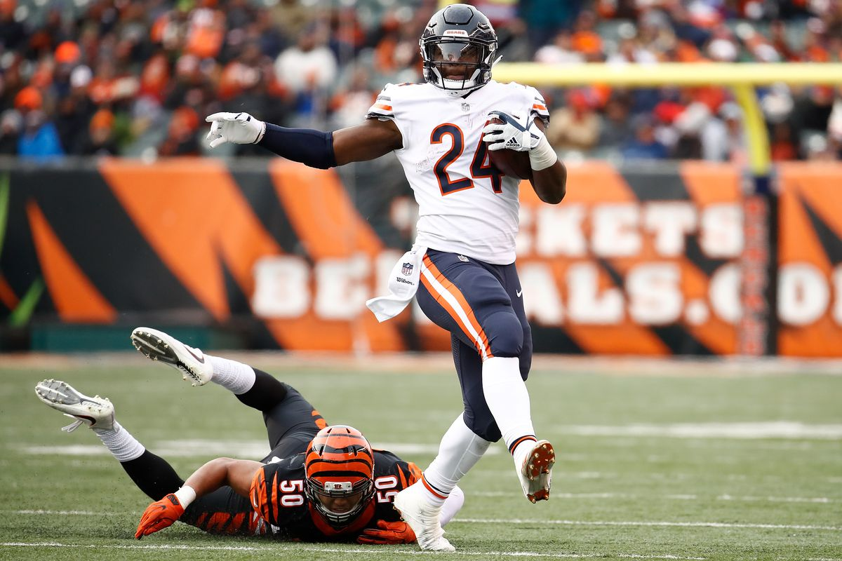 Jordan Howard made history against the Bengals Windy City Gridiron