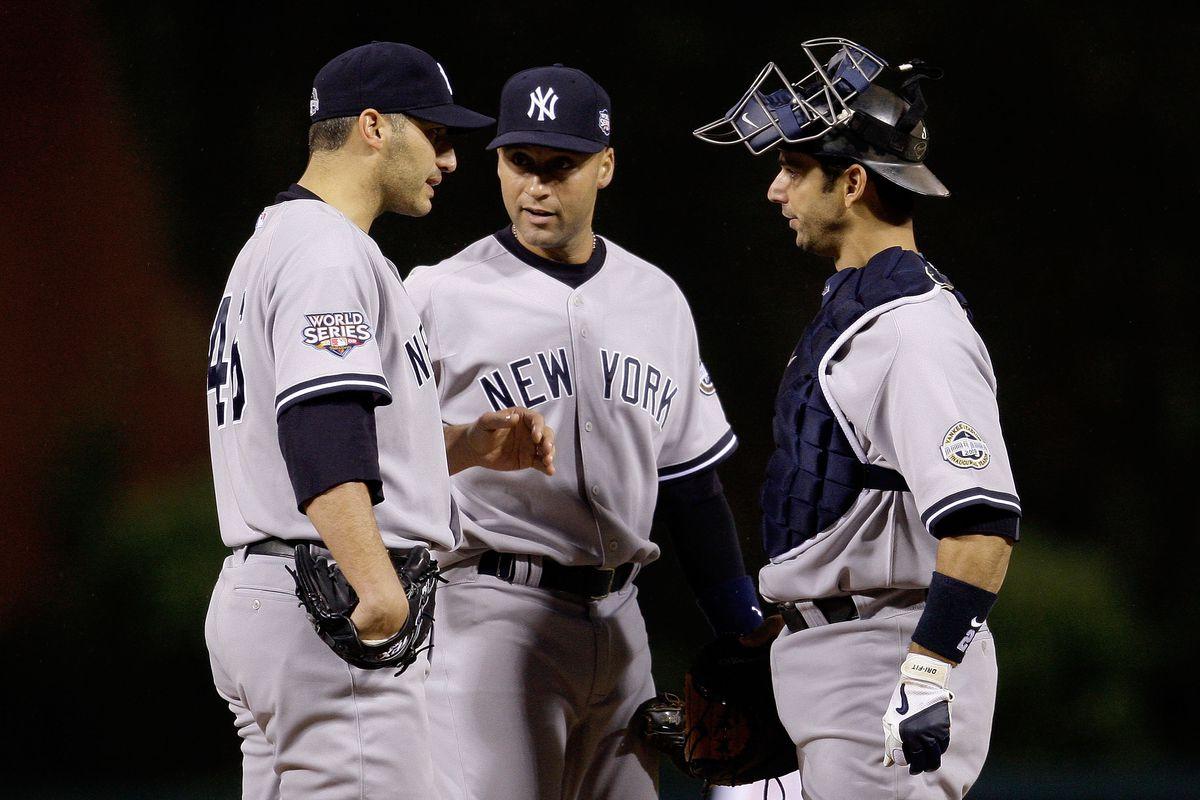 New York Yankees v Philadelphia Phillies, Game 3