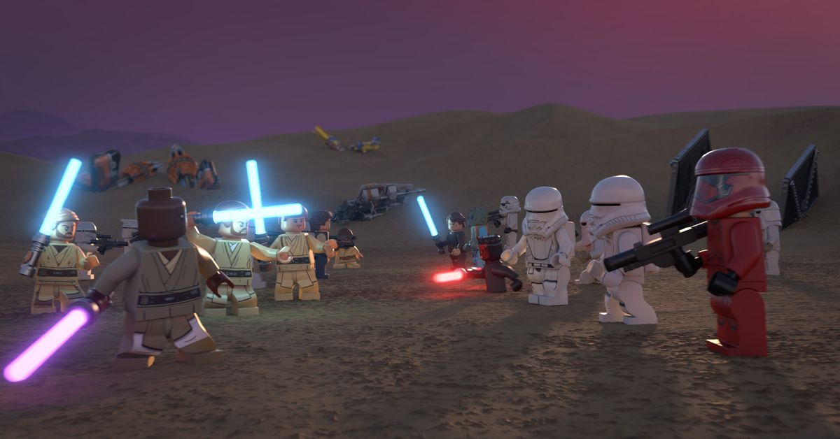 Lego Star Wars Holiday Special Gets November Release On Disney Plus
