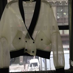 Mesh jacket, $129