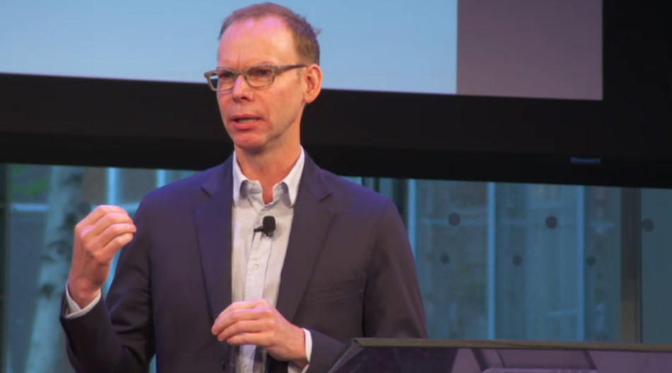 Photo: Steve Ells at Welcome Conference