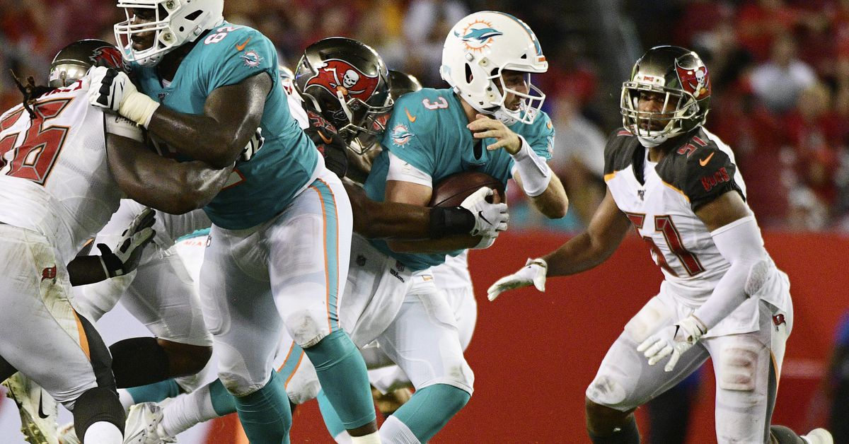 The Splash Zone 8/17/19: Dolphins Sloppy In Loss To Buccaneers