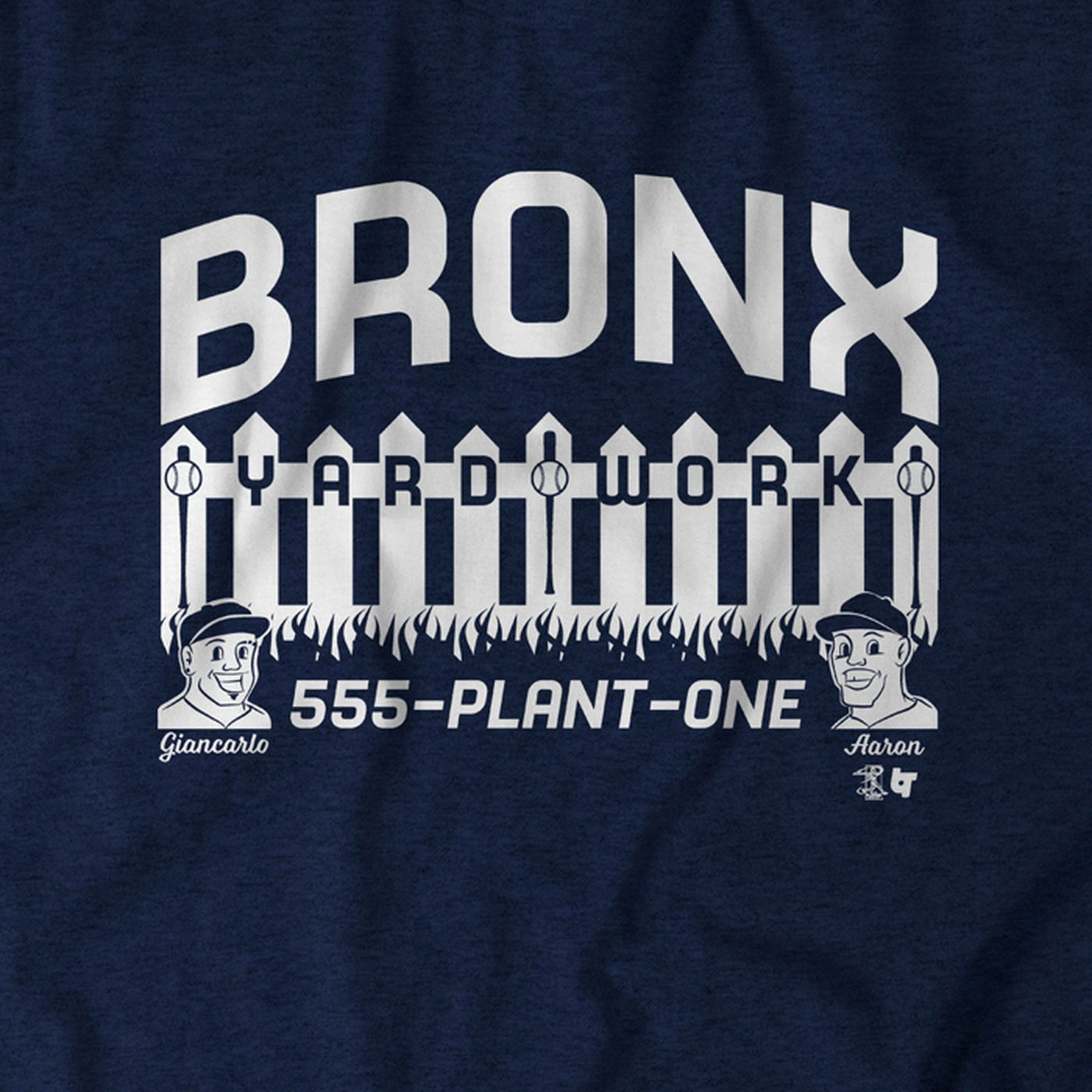 871d1e09 Celebrate Yankees Opening Day with this Bronx Yard Work t-shirt. New ...