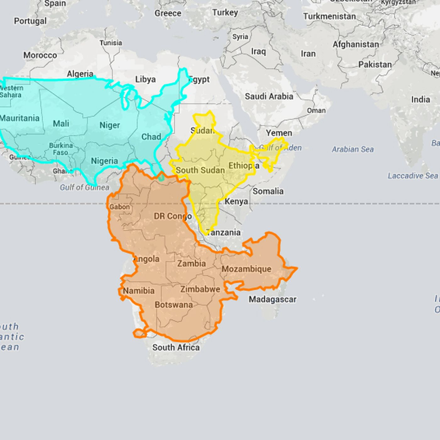 This interactive website shows how wrong mercator projections can be this interactive website shows how wrong mercator projections can be vox gumiabroncs Images
