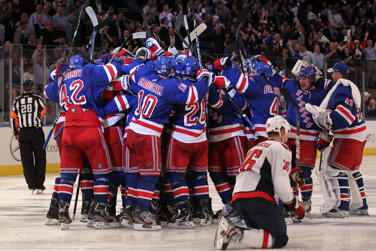 2229708f647 2012 NHL Playoffs  Rangers Vs. Capitals - Game 5 Notes - Blueshirt ...