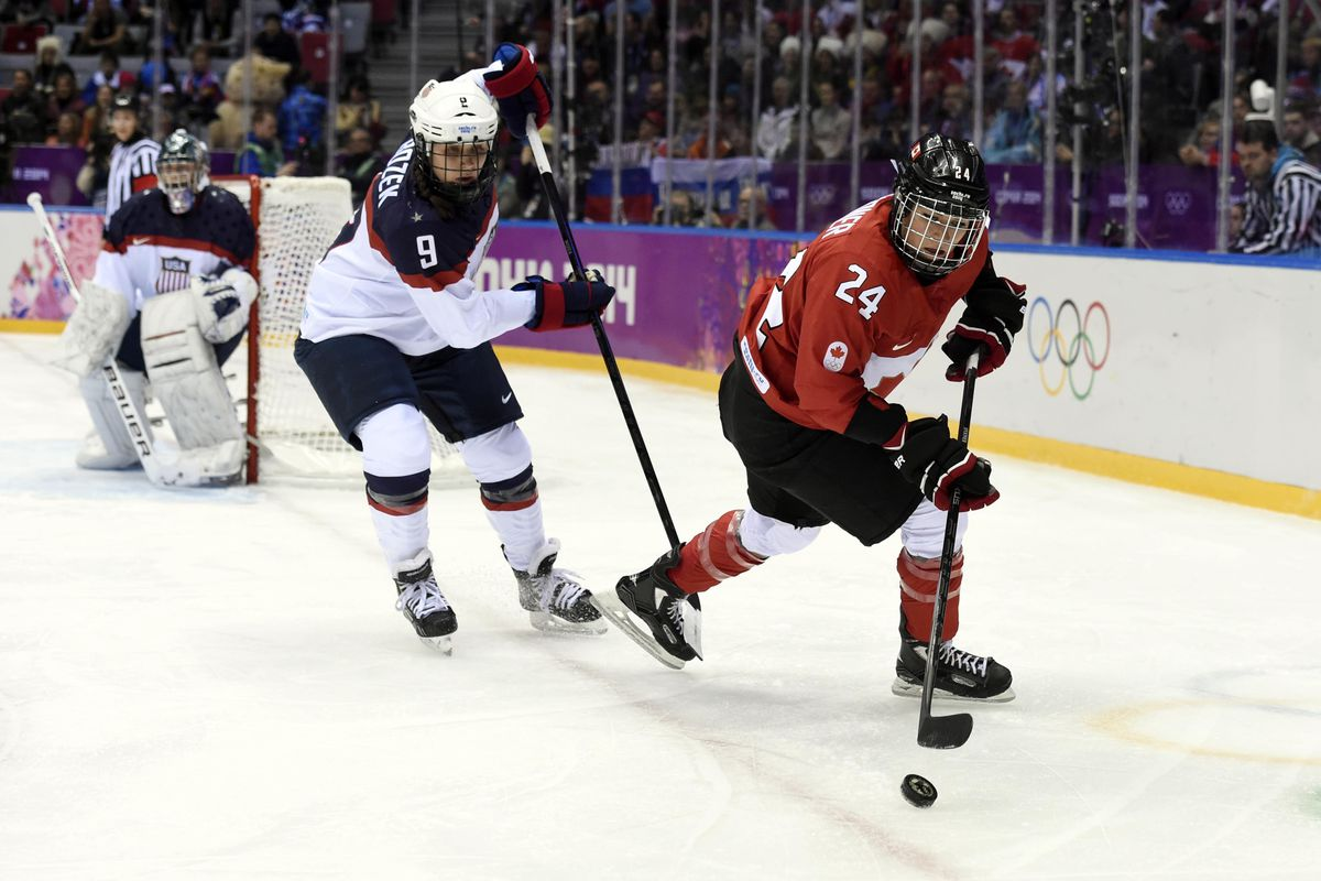 Natalie Spooner (Canada #24) and the Toronto Furies took the Clarkson Cup last season and look to do it again as the CWHL turns a new leaf in its quest to expand its platform.