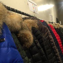 So many Andrew Marc coats!