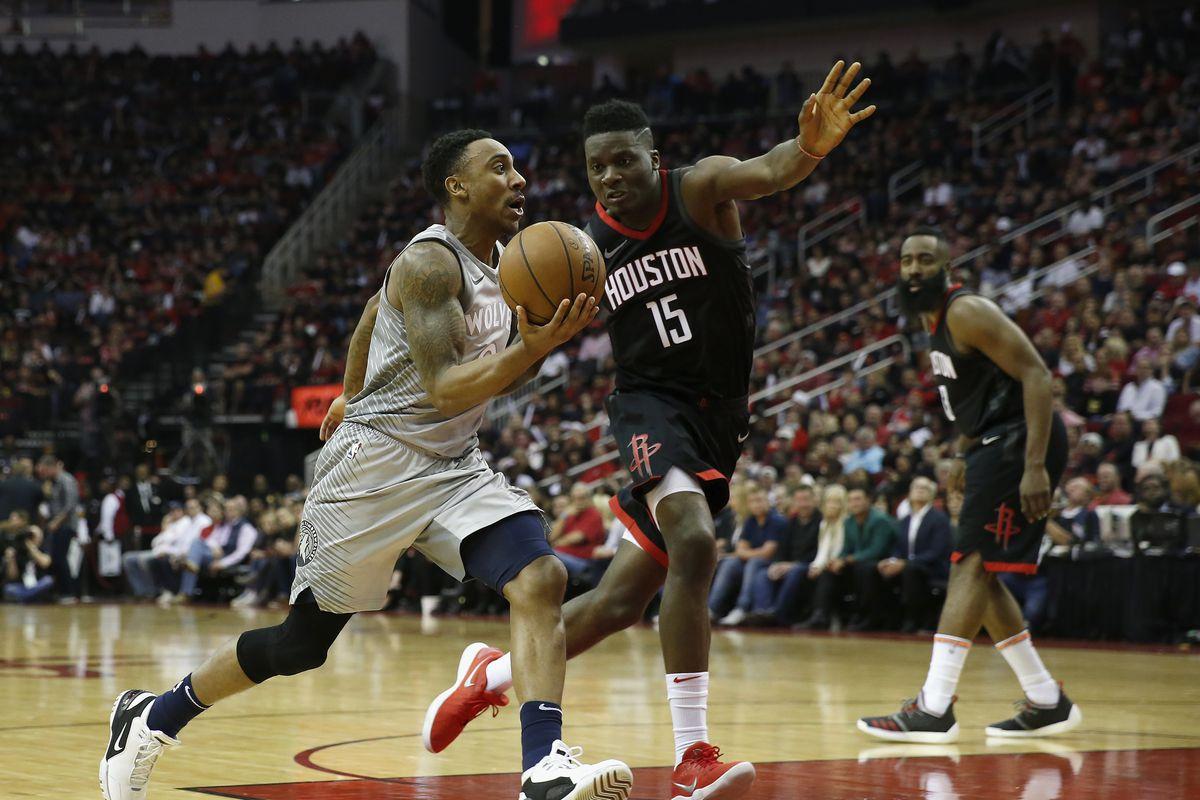 Minnesota Timberwolves v Houston Rockets - Game One