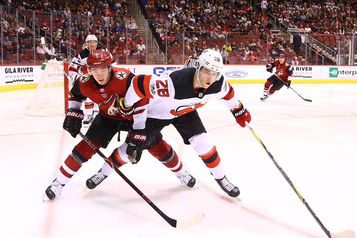 NHL: New Jersey Devils at Arizona Coyotes