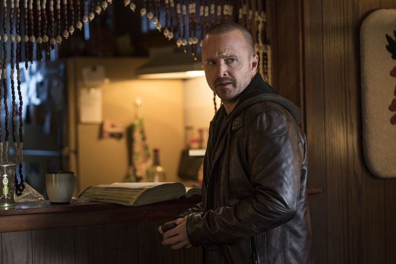 Aaron Paul in El Camino: A Breaking Bad Movie.