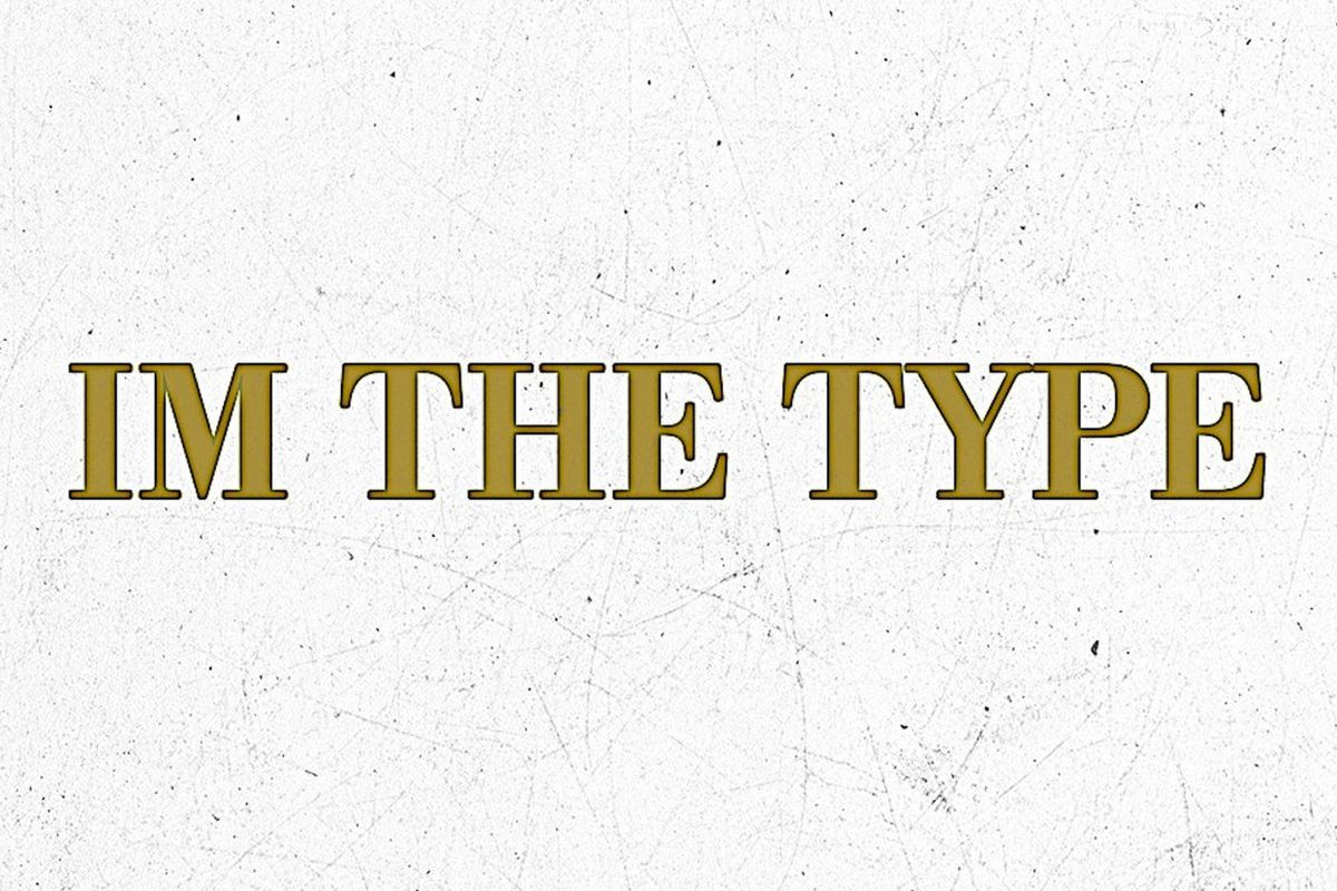 "O Racks' ""I'm The Type"" artwork"