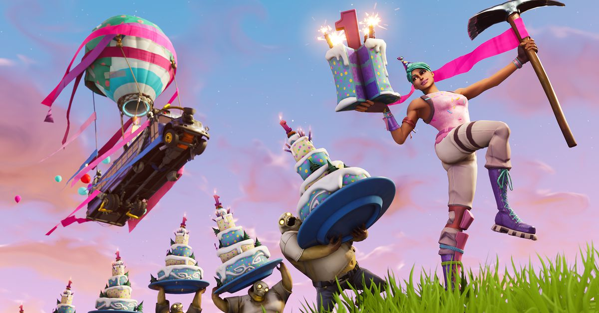 Epic Is Celebrating Fortnite S One Year Anniversary With New Cosmetics Polygon