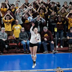 Crowd support, including the students, was awesome and sometimes deafening.