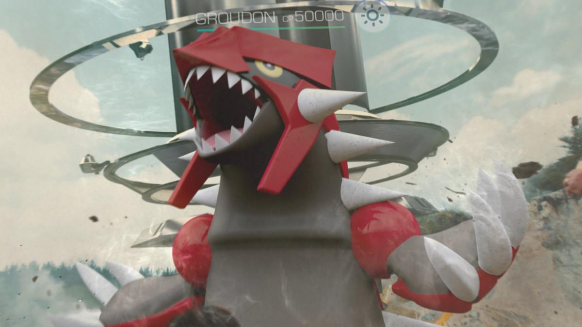 groudon in pokemon go