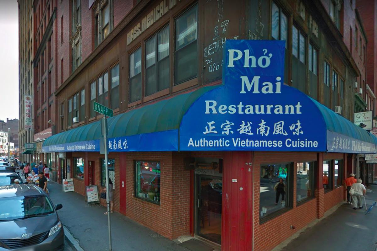 Pho Mai Restaurant Closes In Chinatown Eater Boston