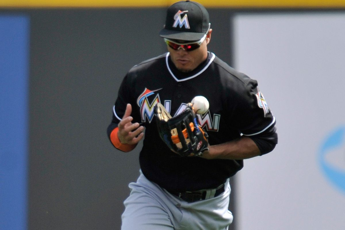 Let's hope Giancarlo Stanton does not bobble the recovery from his hamstring injury.