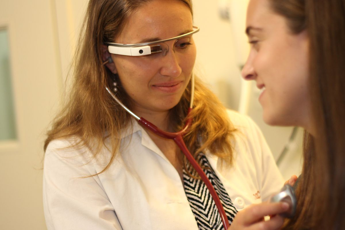 Google Glass is still around -- and it may be coming to more hospital rooms