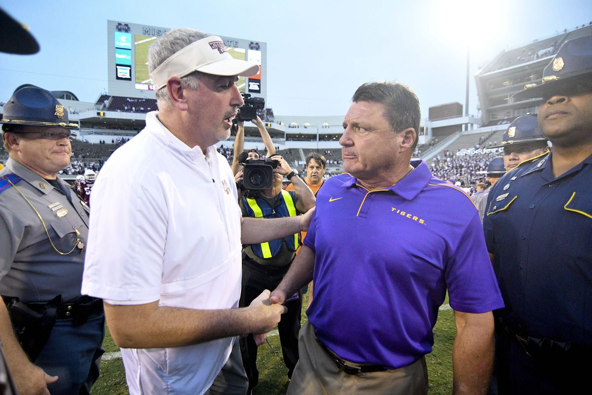 NCAA Football: Louisiana State at Mississippi State