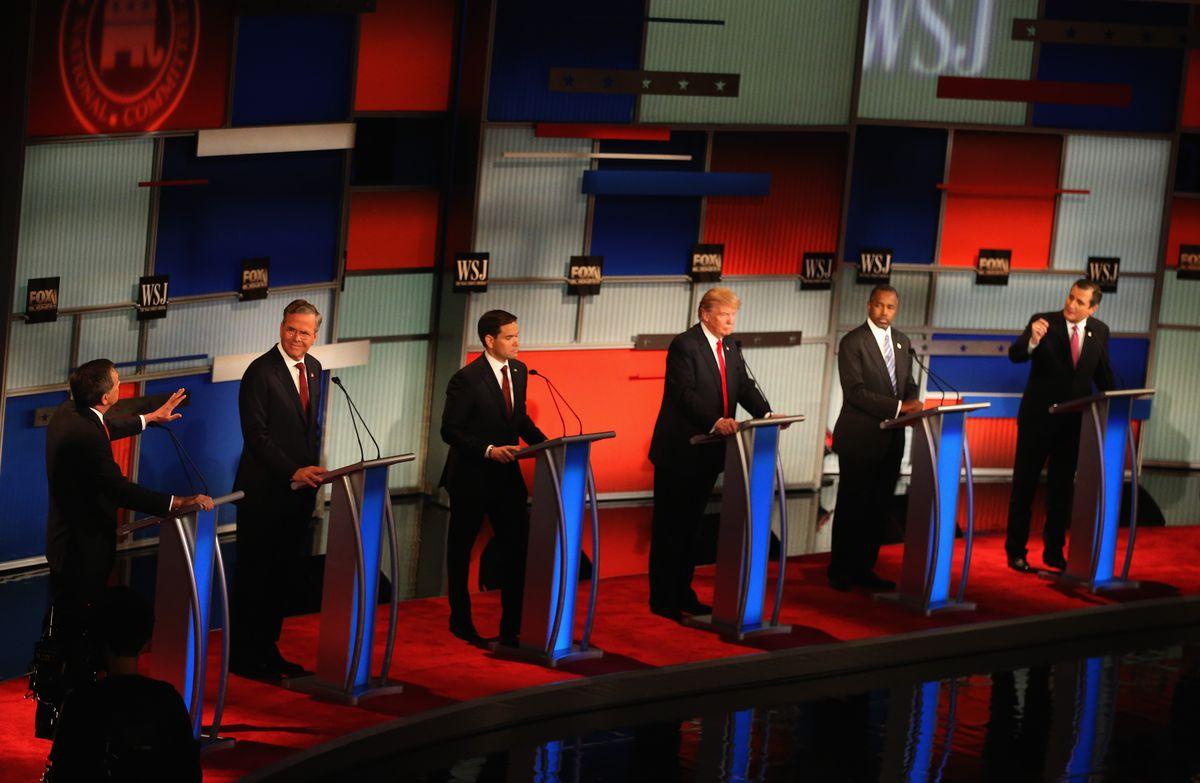 Republicans debate in Milwaukee.