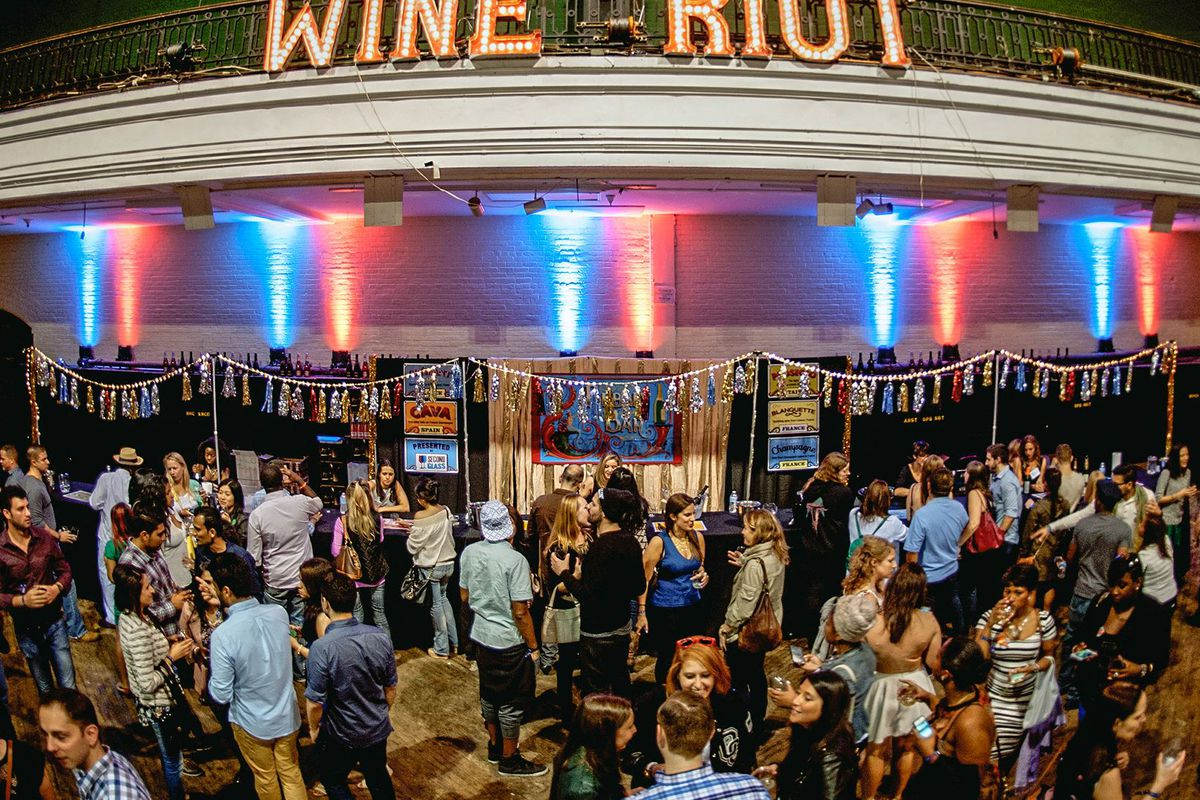 A Wine Riot event