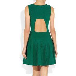 "<a href=""http://www.net-a-porter.com/product/31373""> Issa cutout ribbed knit dress</a>, $650 netaporter.com"