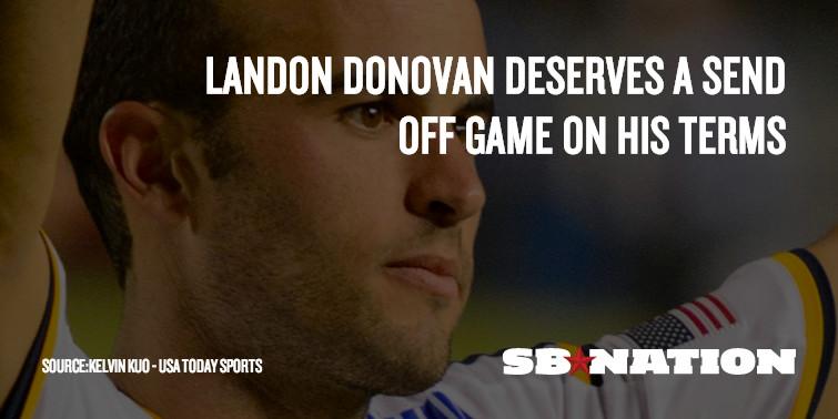 Landon Donovan sendoff meme