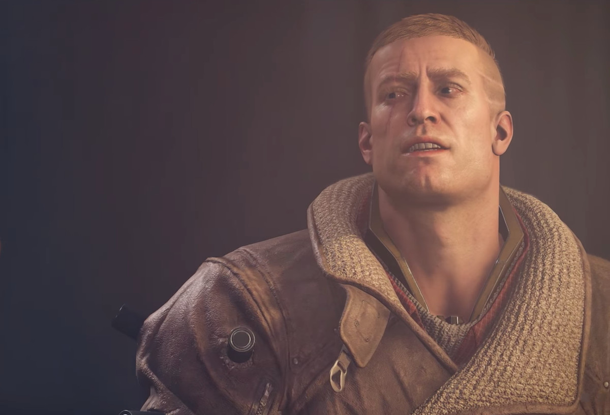 Wolfenstein 2: The New Colossus - B.J. wearing a jacket