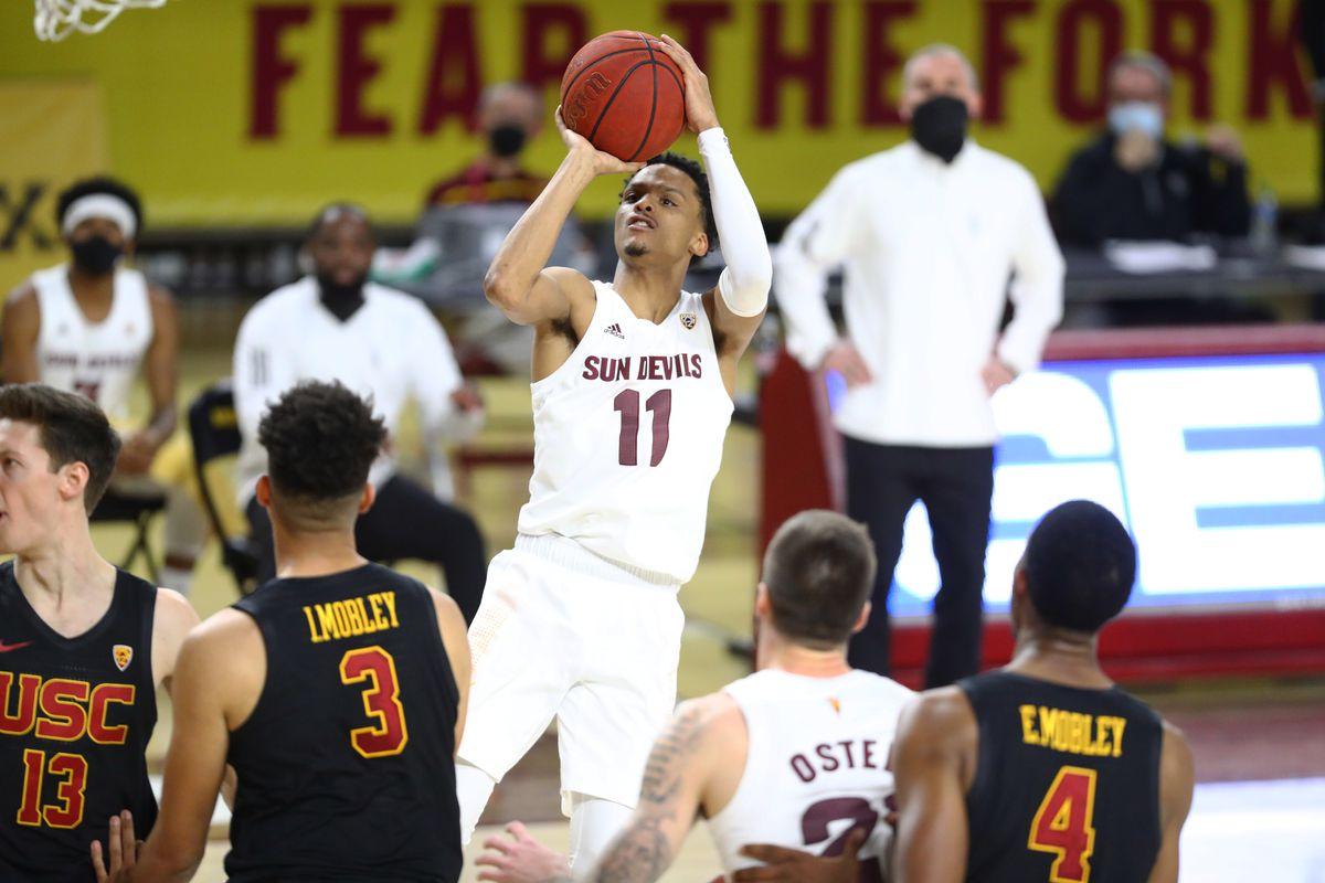 NCAA Basketball: USC at Arizona State