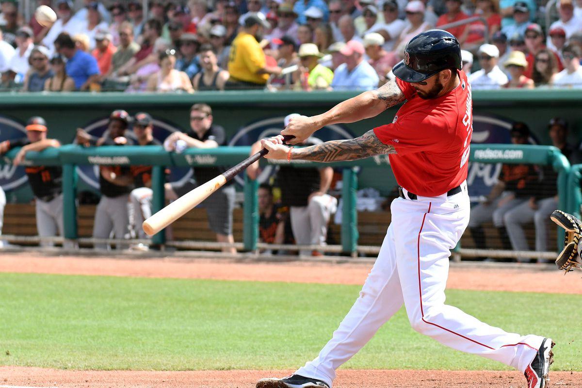 MLB: Spring Training-Baltimore Orioles at Boston Red Sox