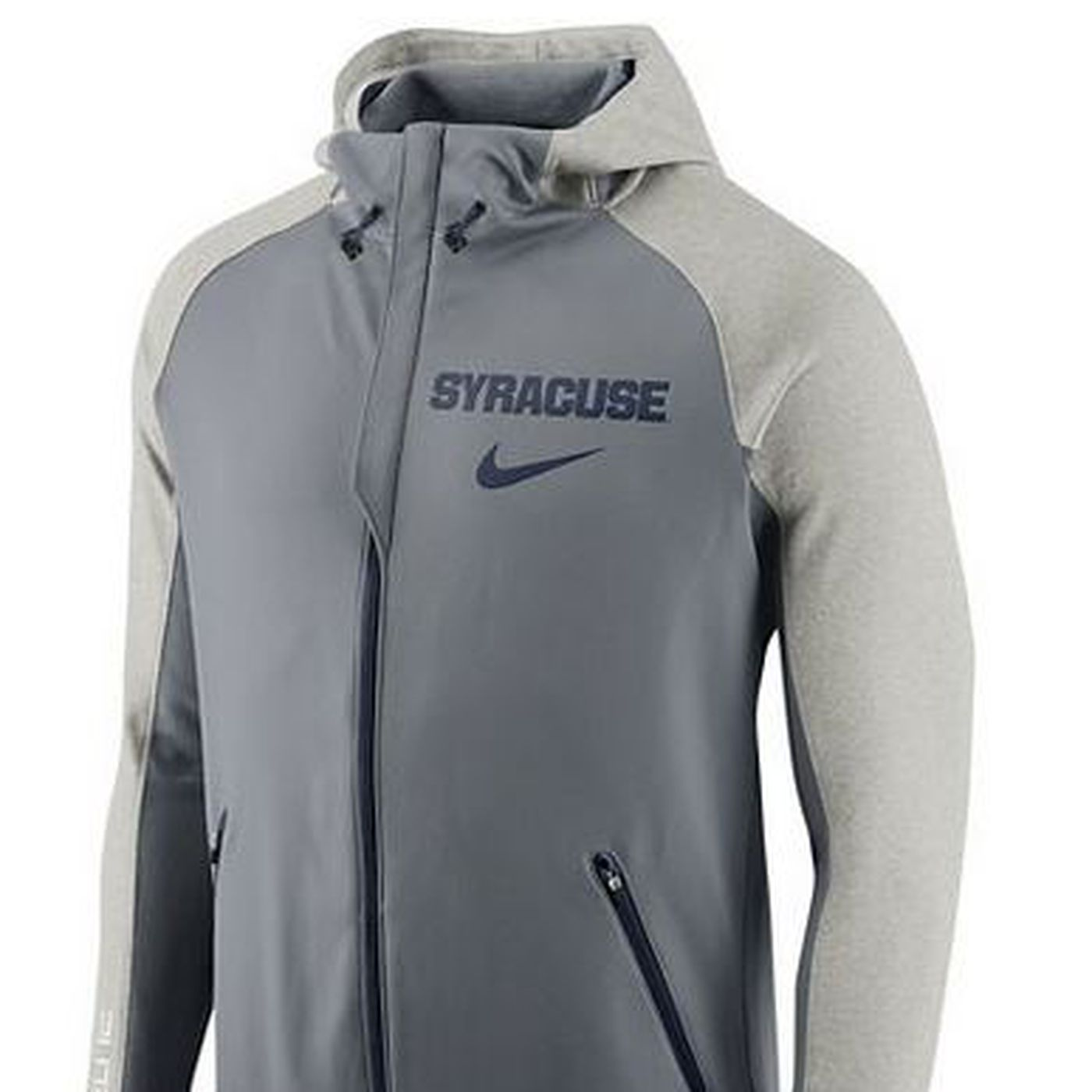 Syracuse Basketball Is Getting New Platinum Warm Up Hoodies