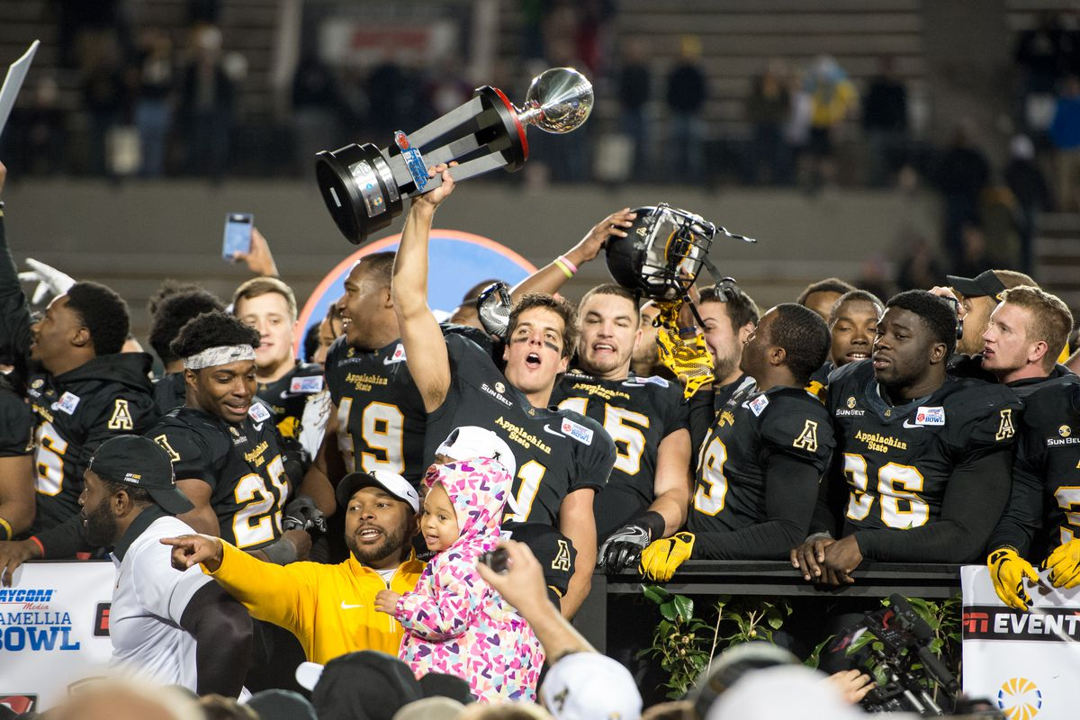 App State can't possibly improve on a 10-2 regular season record. Right?
