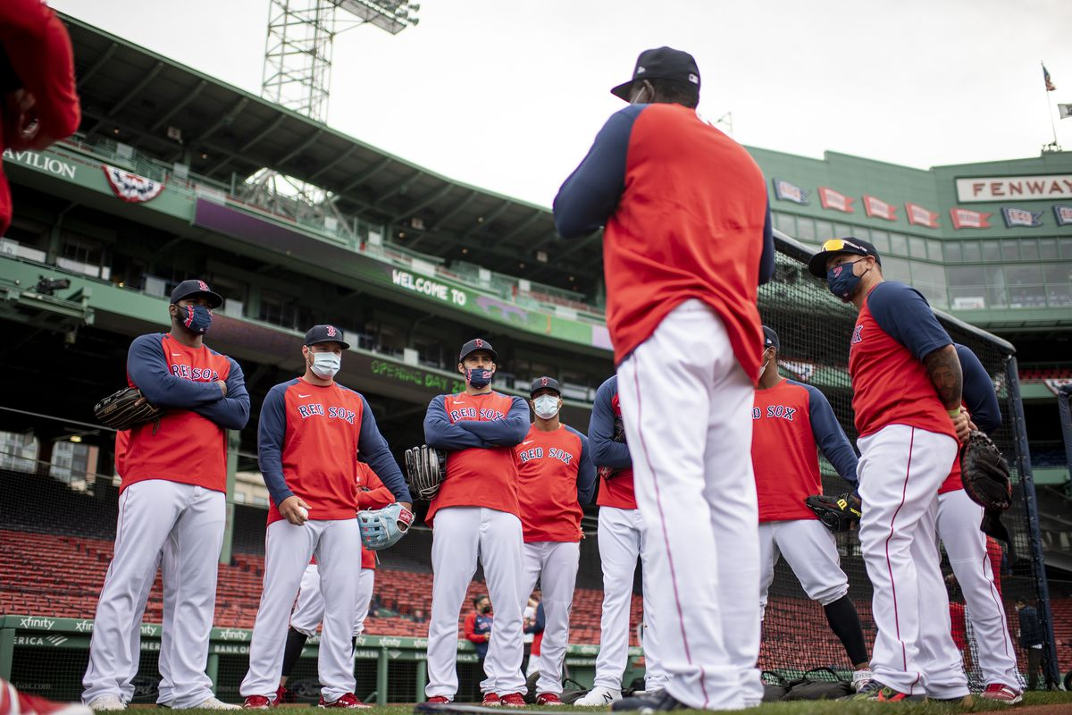 Boston Red Sox Opening Day Workout