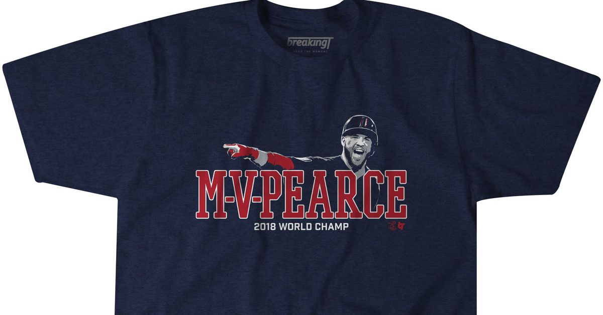 brand new 04ad2 3617e The World Series belonged to MVP Steve Pearce, now known as ...