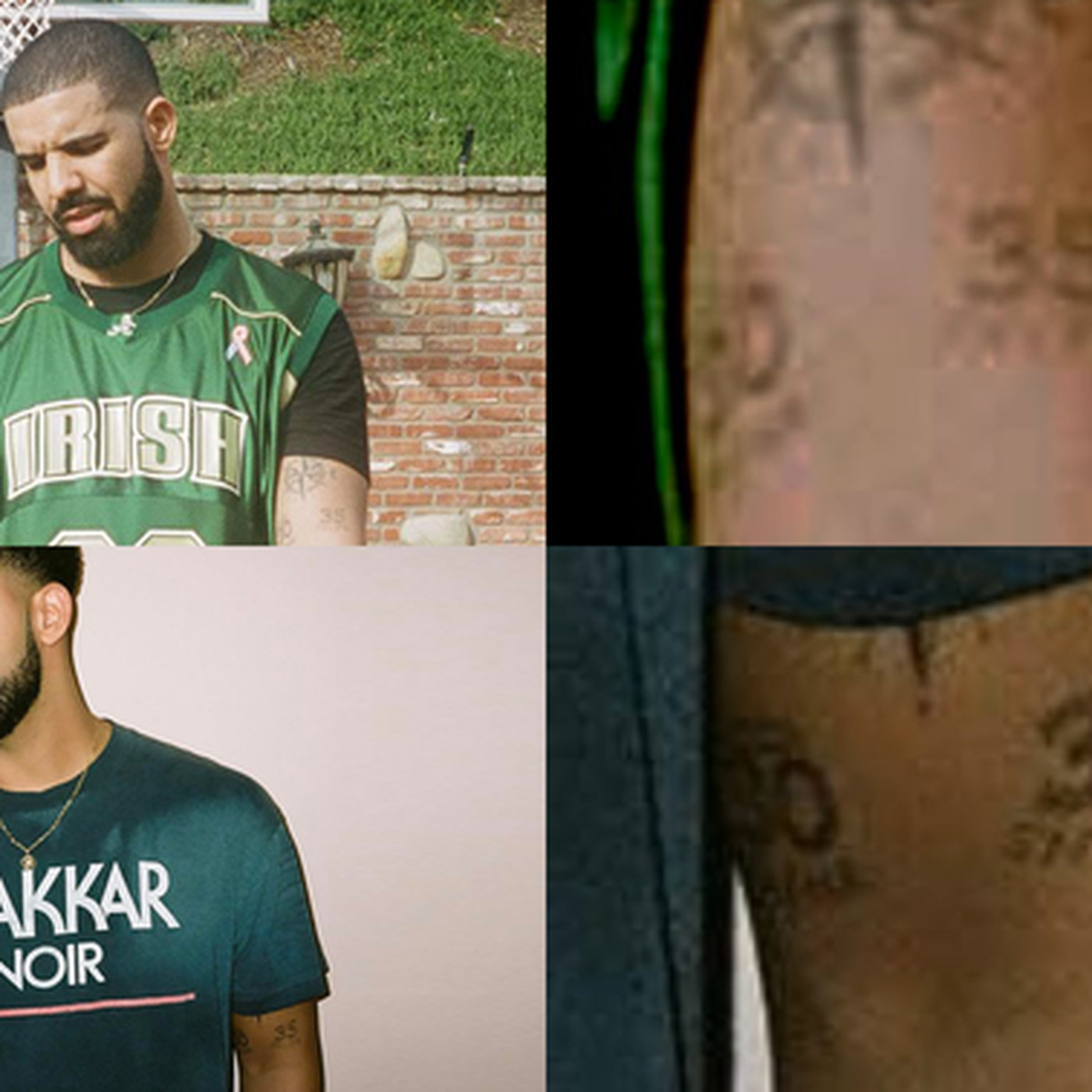 The gallery for does drake have tattoos for Does steph curry have tattoos