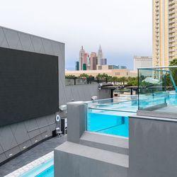 Eater pool deck