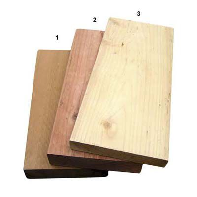 Redwood And Cedar Wood For Decking